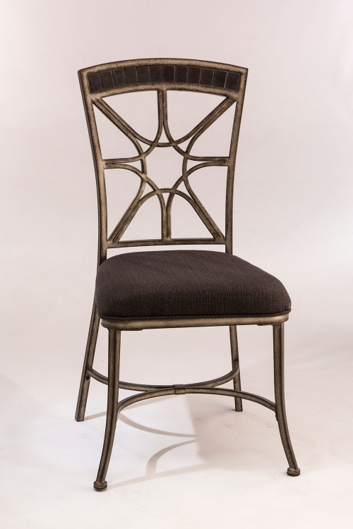 Hillsdale Embassy Dining Chairs Rubbed Black 4808 802