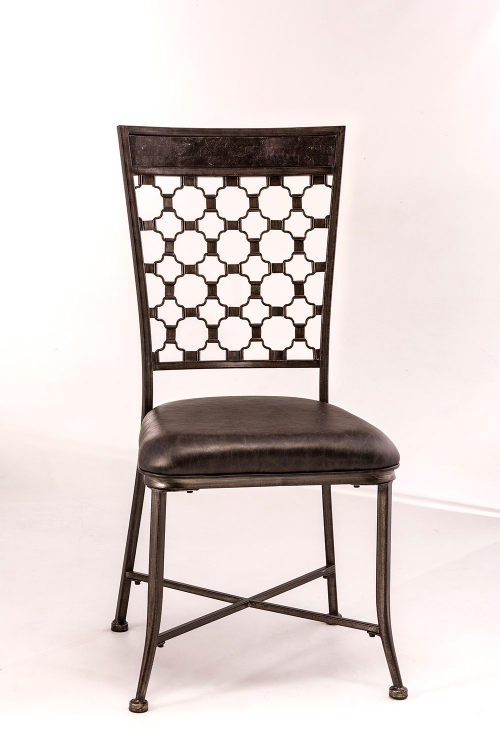 Brescello Dining Chair - Charcoal/Blue Stone