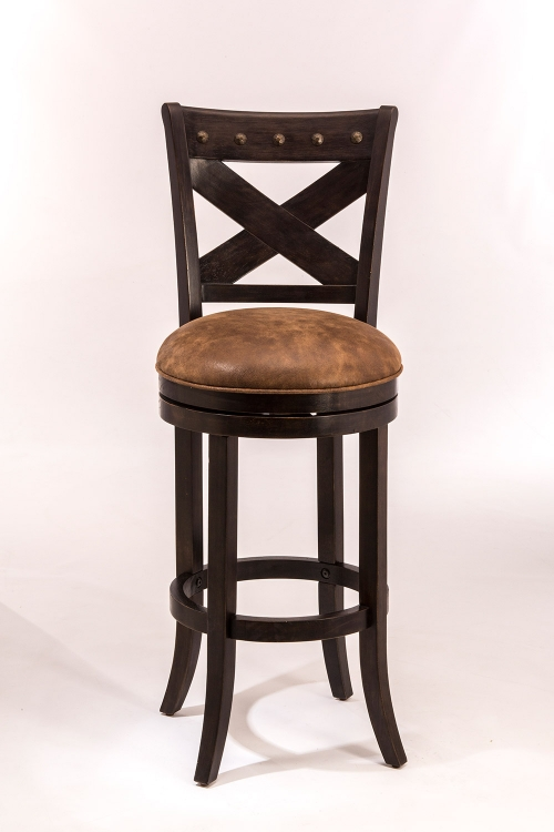 Hillsdale Brantley Swivel Counter Stool Deep Bronze 5758