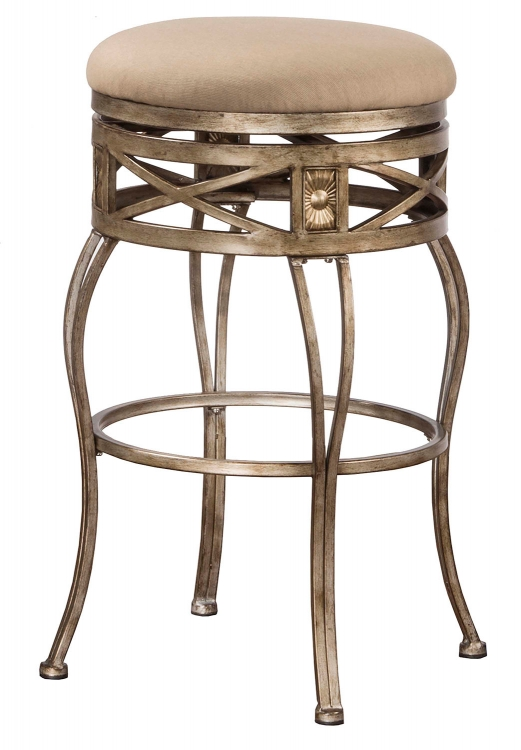 Callen Indoor/Outdoor Swivel Bar Stool - Brushed Bronze
