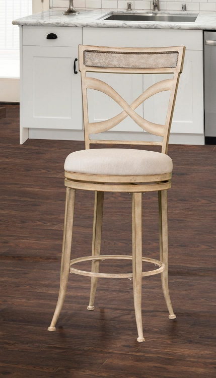Wayborn Indoor/Outdoor Swivel Counter Stool - Rubbed Bronze