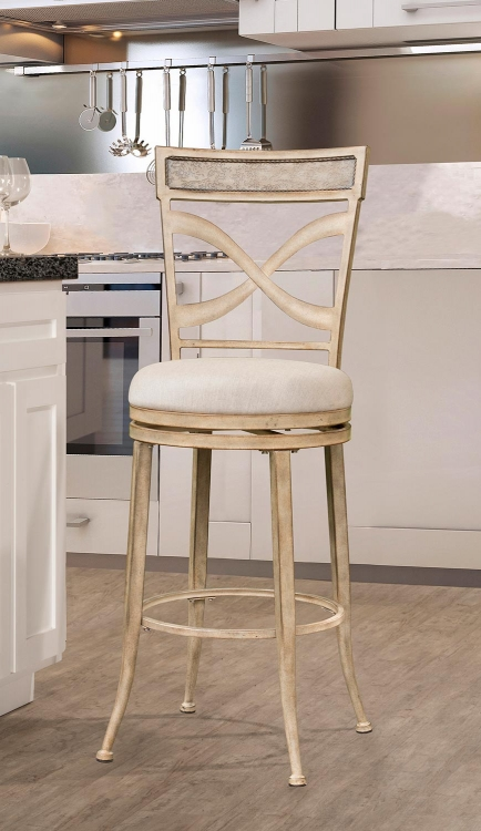 Wayborn Indoor/Outdoor Swivel Bar Stool - Rubbed Bronze