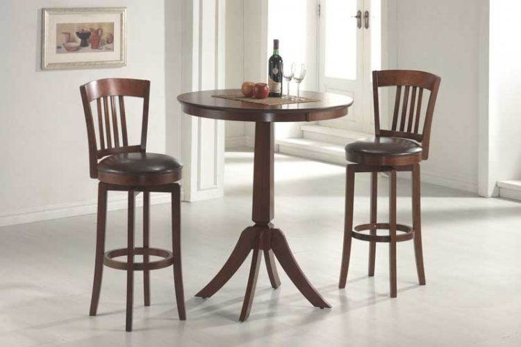 Plainview Bistro Table Set with Canton Stool