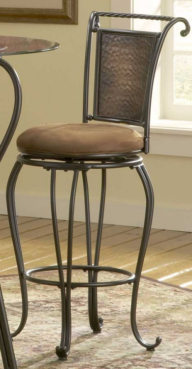 Milan Swivel Bar Stool