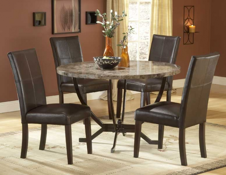 Monaco Round Dining Table Set