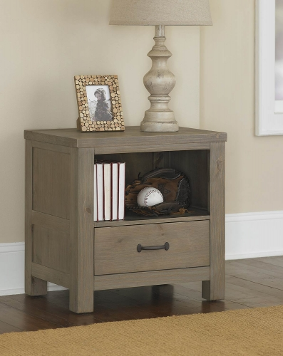 Highlands Nightstand - Driftwood