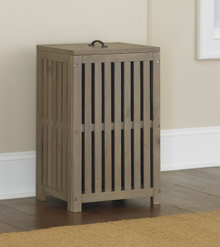 Highlands Clothes Hamper - Driftwood