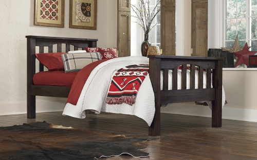 Highlands Harper Bed - Espresso