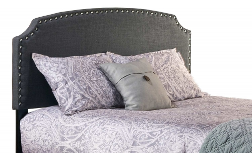 Lani King Size Headboard - Dark Linen/Gray