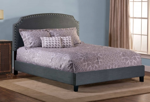 Lani Bed - Linen/Gray
