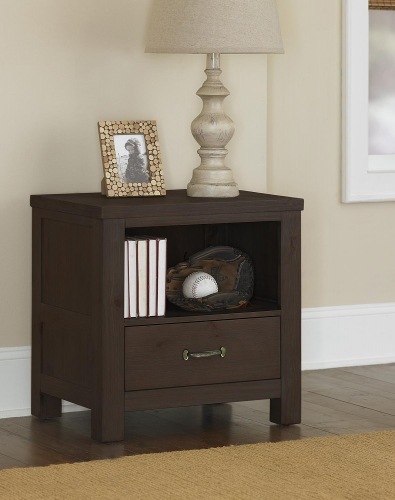 Highlands Nightstand - Espresso