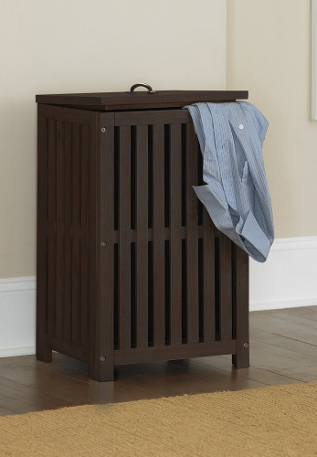 Highlands Clothes Hamper - Espresso