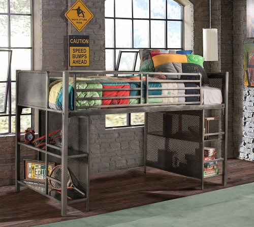 Urban Quarters Youth Junior Loft - Black Steel