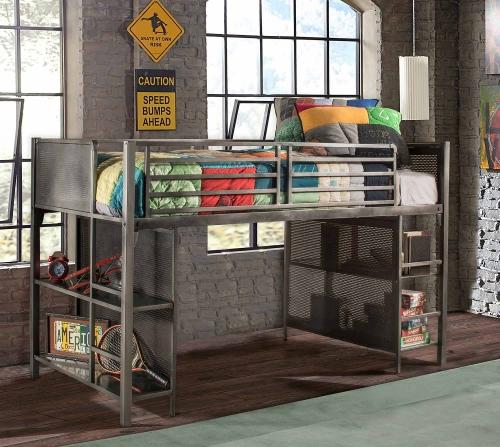 Urban Quarters Youth Junior Loft - Black Steel