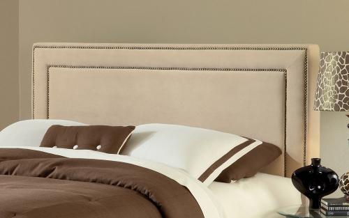 Amber Fabric Headboard - Buckwheat