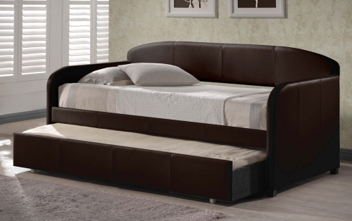 Springfield Daybed With Trundle - Brown