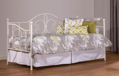 Ruby Daybed with Suspension Deck - Textured White