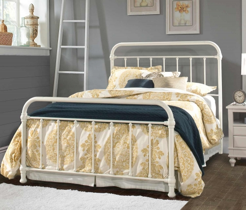 Kirkland Bed - Soft White
