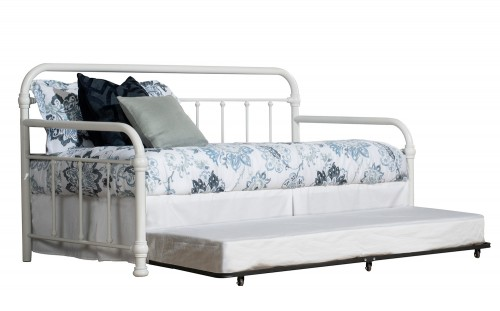 Kirkland Twin Daybed with Trundle - Soft White