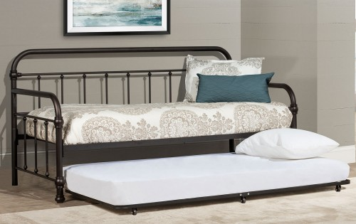 Kirkland Twin Daybed with Trundle - Dark Bronze