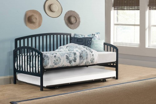 Carolina Daybed with Suspension Deck and Trundle - Navy