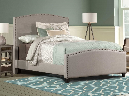 Kerstein Bed - Dove Gray