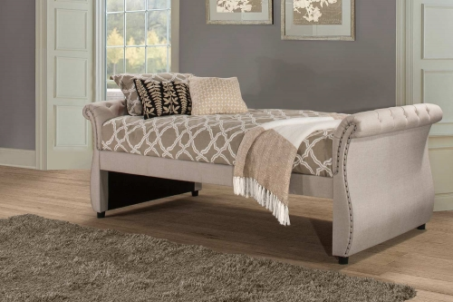 Hunter Backless Daybed - Linen Sandstone