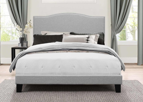 Kiley Bed - Glacier Gray Fabric