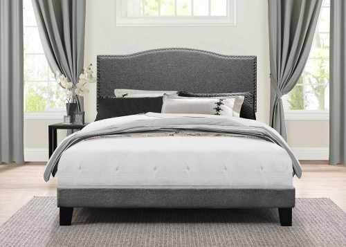 Kiley Bed - Stone
