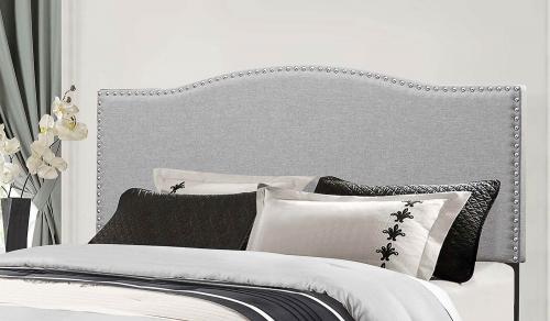 Kiley Headboard - Glacier Gray Fabric