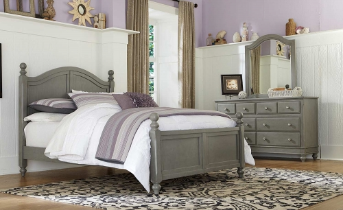 Lake House Payton Arch Bedroom Set - Stone