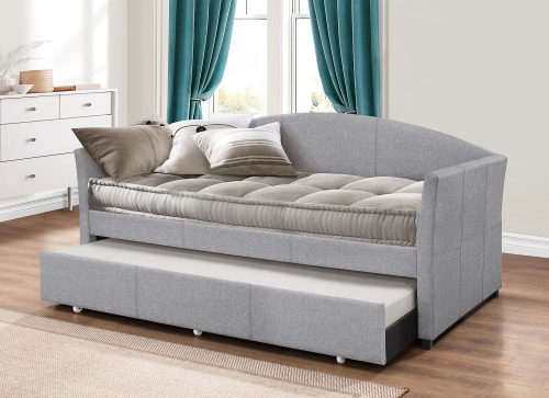 Westchester Daybed with Trundle - Smoke Gray