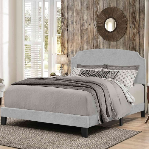 Desi Bed - Glacier Gray Fabric