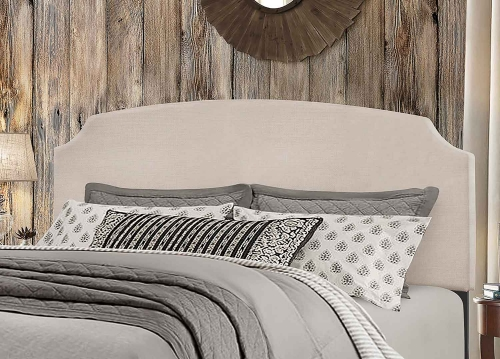 Desi Headboard - Fog Fabric