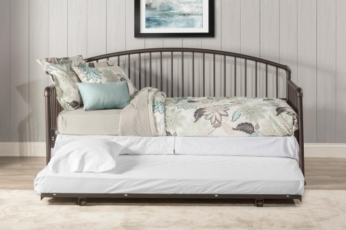 Brandi Daybed with Trundle - Oiled Bronze
