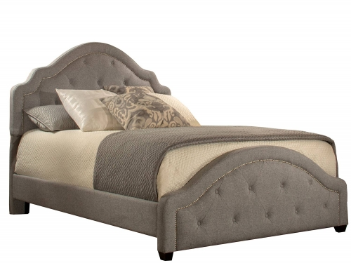 Belize Bed - Light Grey
