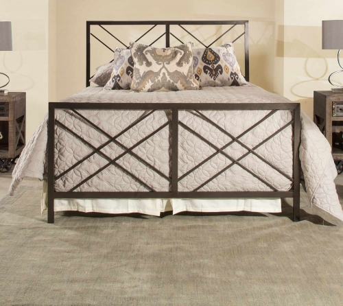 Westlake Metal Bed - Magnesium Pewter