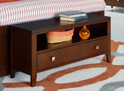 Pulse Dressing Bench - Cherry