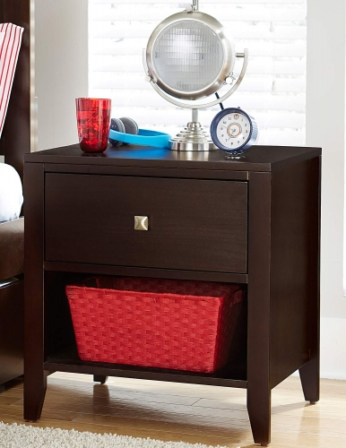 Pulse Nightstand - Chocolate