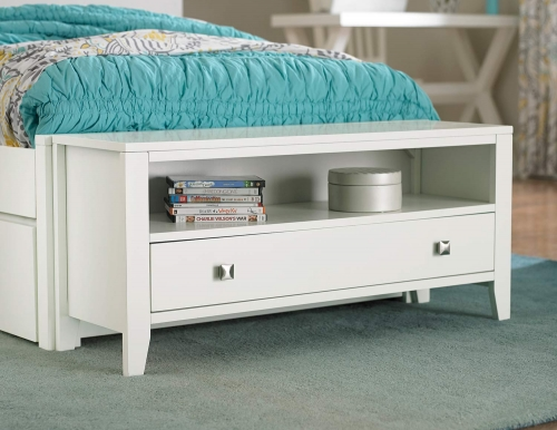 Pulse Dressing Bench - White