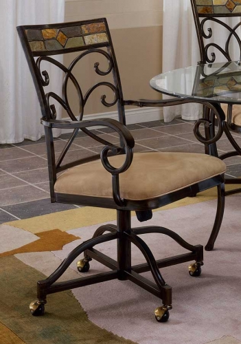 Pompei Caster Dining Chair