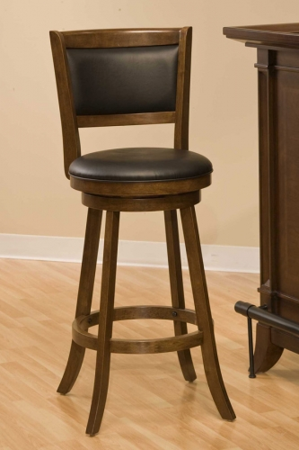 Dennery Swivel Bar Stool - Cherry