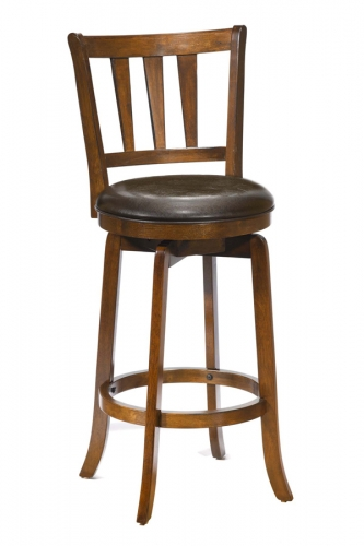 Presque Isle Swivel Bar Stool - Cherry