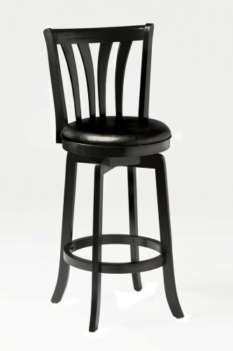 Savana Swivel Counter Stool - Black