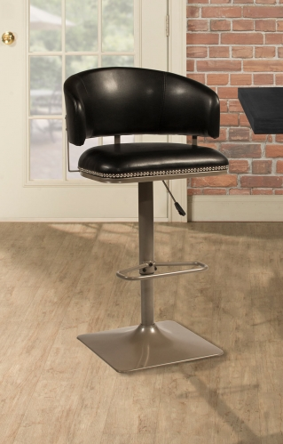 Pelfrey Adjustable Swivel Stool - Champagne