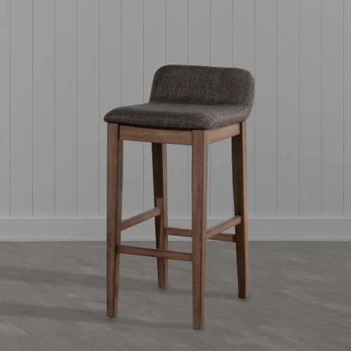 Renmark Renmark Counter Height Stool - Brushed Gray
