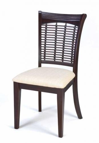 Bayberry Wicker Chair - Dark Cherry