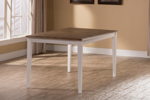 Bayberry-Embassy Rectangle Dining Table - White