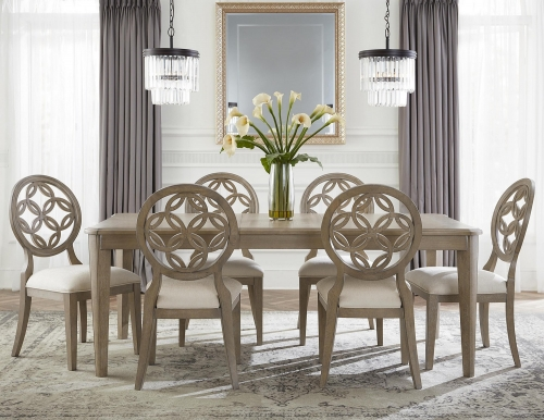 Savona 7-Piece Dining Set - Vintage Gray