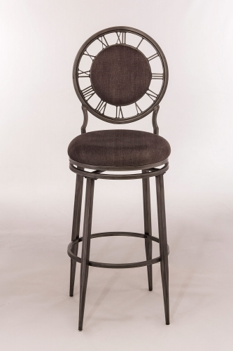 Big Ben Swivel Bar Stool - Pewter
